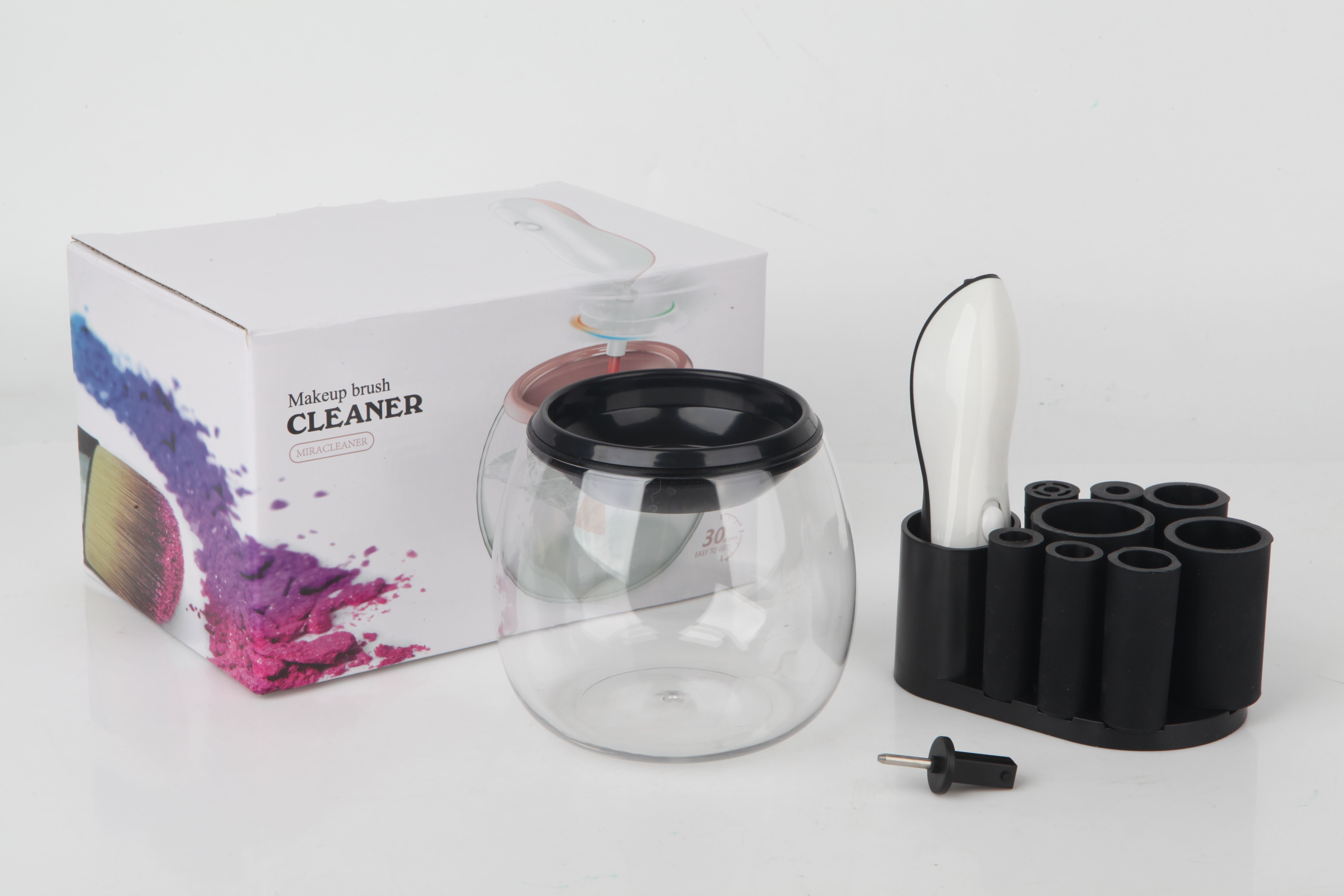 Makeup Brush Cleaner - Cleans and Dries All Makeup Brushes In Seconds 8 in 1